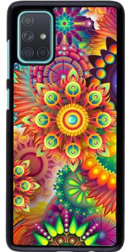 Coque Samsung Galaxy A71 - Multicolor aztec