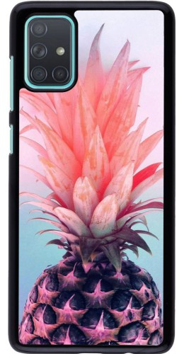 Coque Samsung Galaxy A71 - Purple Pink Pineapple
