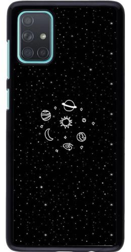 Coque Samsung Galaxy A71 - Space Doodle