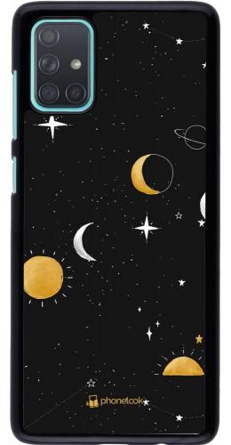 Coque Samsung Galaxy A71 - Space Vector