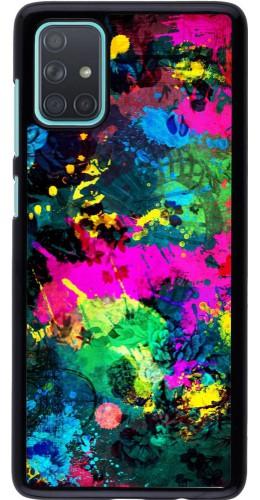 Coque Samsung Galaxy A71 - splash paint