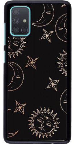 Coque Samsung Galaxy A71 - Suns and Moons