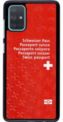 Coque Samsung Galaxy A71 - Swiss Passport