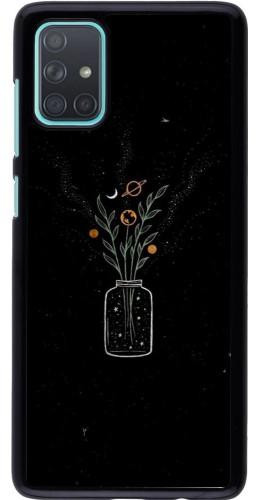Coque Samsung Galaxy A71 - Vase black