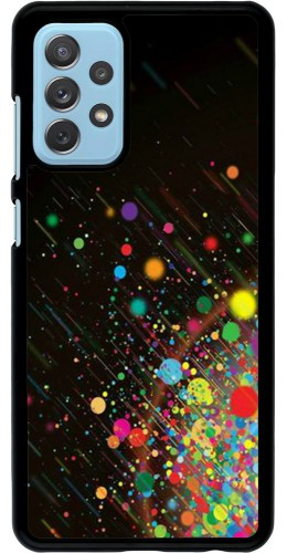 Coque Samsung Galaxy A72 - Abstract Bubble Lines
