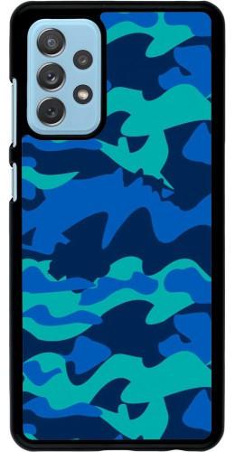 Coque Samsung Galaxy A72 - Camo Blue