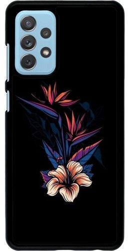 Coque Samsung Galaxy A72 - Dark Flowers