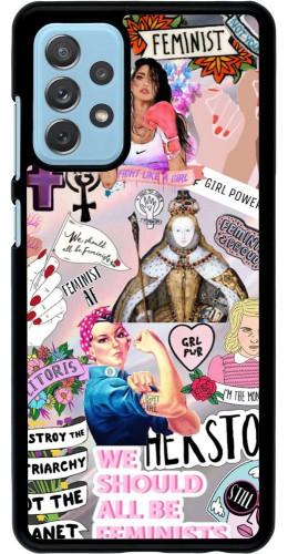 Coque Samsung Galaxy A72 - Girl Power Collage