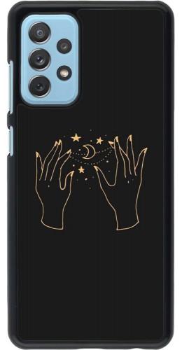 Coque Samsung Galaxy A72 - Grey magic hands