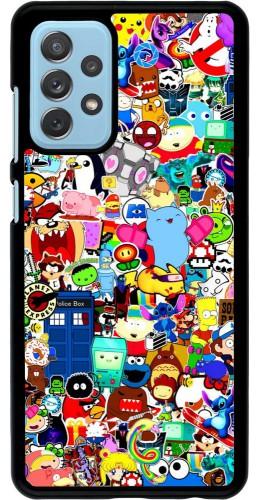 Coque Samsung Galaxy A72 - Mixed cartoons