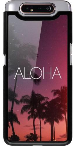 Coque Samsung Galaxy A80 - Aloha Sunset Palms