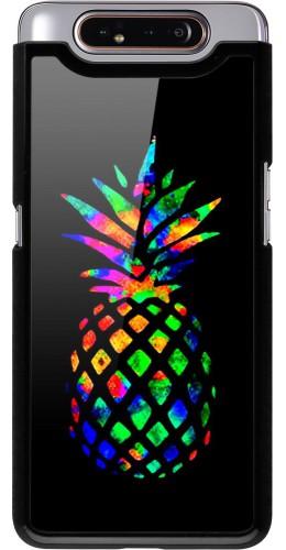 Coque Samsung Galaxy A80 - Ananas Multi-colors