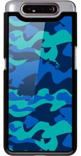 Coque Samsung Galaxy A80 - Camo Blue