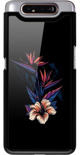 Coque Samsung Galaxy A80 - Dark Flowers