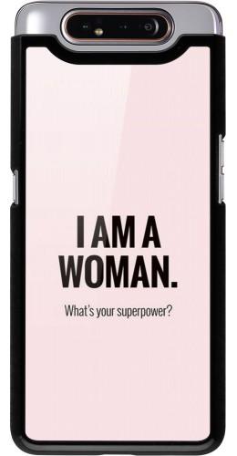 Coque Samsung Galaxy A80 - I am a woman