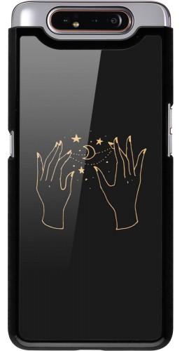 Coque Samsung Galaxy A80 - Grey magic hands