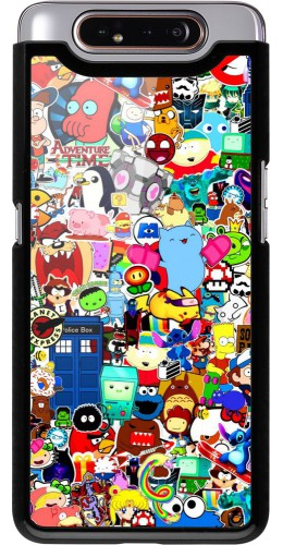 Coque Samsung Galaxy A80 - Mixed cartoons