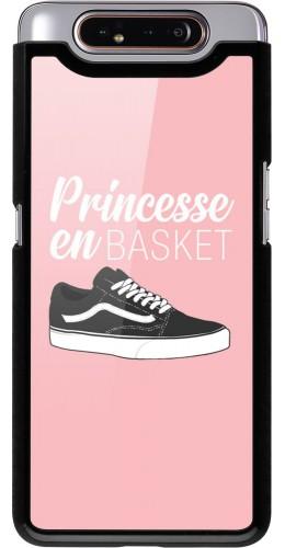 Coque Samsung Galaxy A80 - princesse en basket