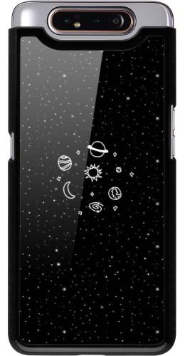 Coque Samsung Galaxy A80 - Space Doodle
