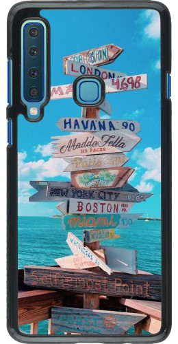 Coque Samsung Galaxy A9 - Cool Cities Directions