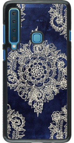 Coque Samsung Galaxy A9 - Cream Flower Moroccan