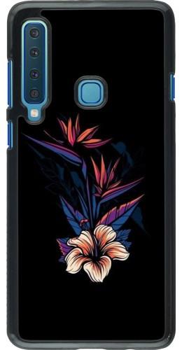 Coque Samsung Galaxy A9 - Dark Flowers