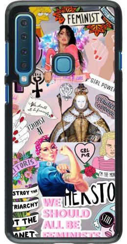 Coque Samsung Galaxy A9 - Girl Power Collage