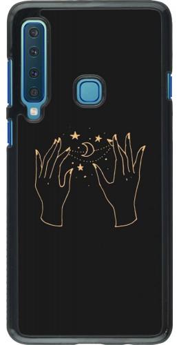 Coque Samsung Galaxy A9 - Grey magic hands