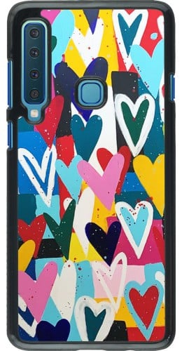 Coque Samsung Galaxy A9 - Joyful Hearts
