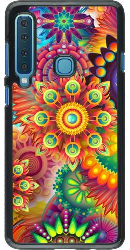 Coque Samsung Galaxy A9 - Multicolor aztec