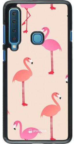 Coque Samsung Galaxy A9 - Pink Flamingos Pattern