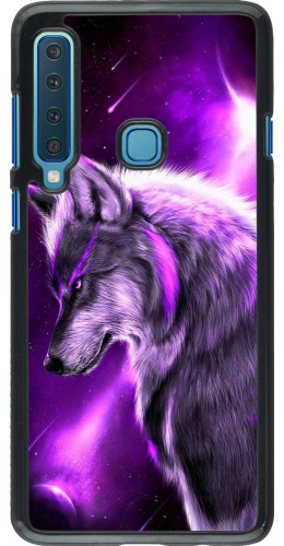 Coque Samsung Galaxy A9 - Purple Sky Wolf