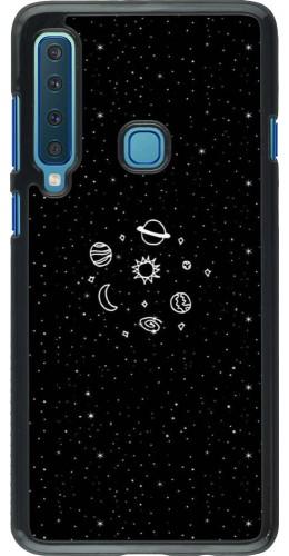 Coque Samsung Galaxy A9 - Space Doodle