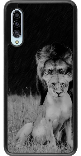 Coque Samsung Galaxy A90 5G - Angry lions