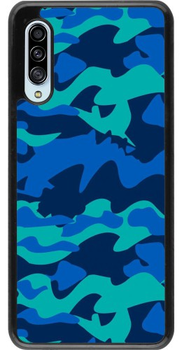 Coque Samsung Galaxy A90 5G - Camo Blue