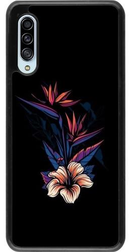 Coque Samsung Galaxy A90 5G - Dark Flowers