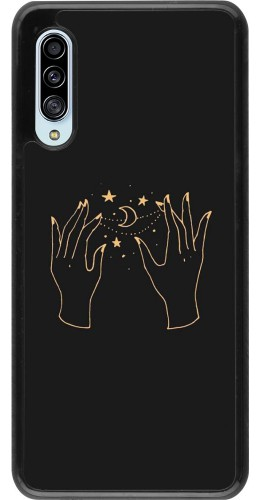 Coque Samsung Galaxy A90 5G - Grey magic hands