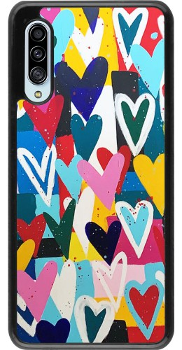 Coque Samsung Galaxy A90 5G - Joyful Hearts