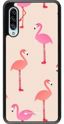 Coque Samsung Galaxy A90 5G - Pink Flamingos Pattern