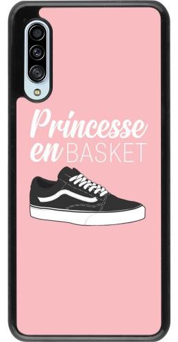 Coque Samsung Galaxy A90 5G - princesse en basket