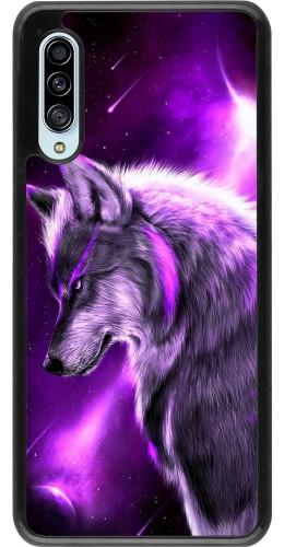 Coque Samsung Galaxy A90 5G - Purple Sky Wolf