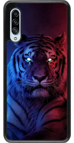 Coque Samsung Galaxy A90 5G - Tiger Blue Red