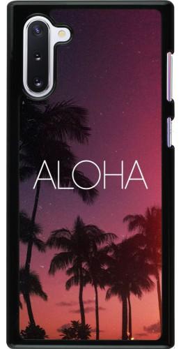 Coque Samsung Galaxy Note 10 - Aloha Sunset Palms