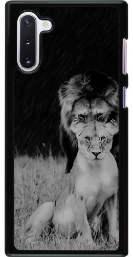 Coque Samsung Galaxy Note 10 - Angry lions