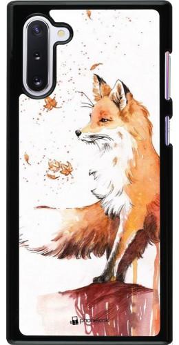 Coque Samsung Galaxy Note 10 - Autumn 21 Fox