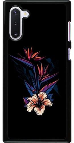 Coque Samsung Galaxy Note 10 - Dark Flowers