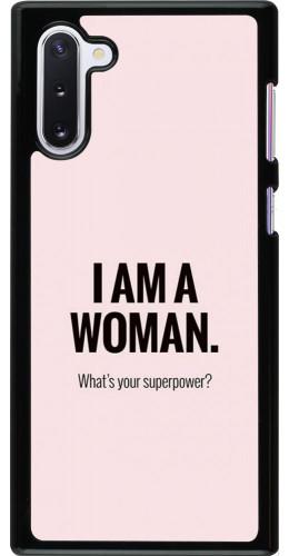 Coque Samsung Galaxy Note 10 - I am a woman