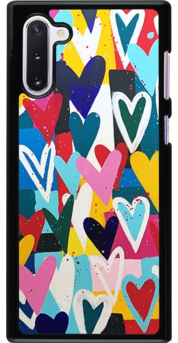 Coque Samsung Galaxy Note 10 - Joyful Hearts