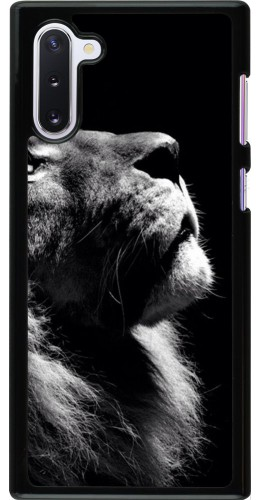 Coque Samsung Galaxy Note 10 - Lion looking up