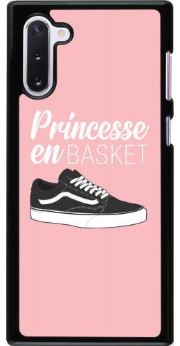 Coque Samsung Galaxy Note 10 - princesse en basket